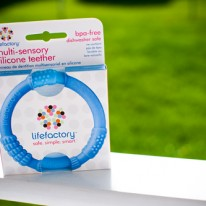LifeFactory Silicon Teether from EcoMom.com