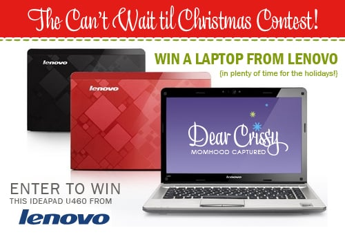 Laptop Mom Blogger Giveaway