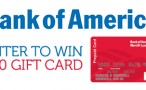 Bank of America Gift Card