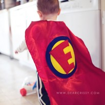 Kid Superhero Cape Photo