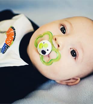 Pacifier Baby Photo