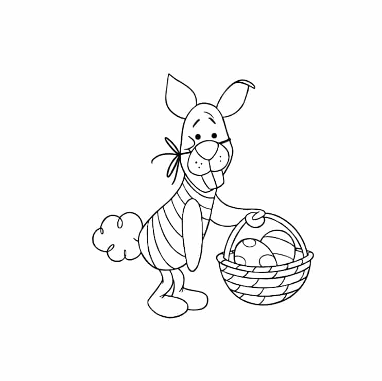 Free Kids Easter Coloring Pages to Print Easter Crafts Eggs Pictures