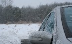 Snow Driving Photo