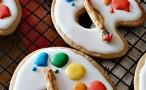 Artist Palette Cookies
