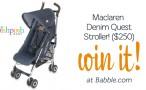 Maclaren Denim Quest Stroller