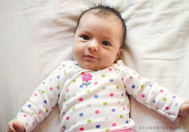7 week old baby