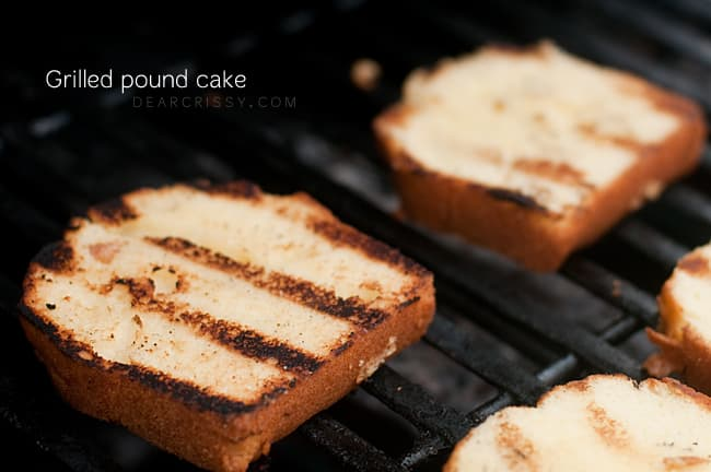 Grilled Angel Food Cake With Lemon Curd Recipe — Dishmaps