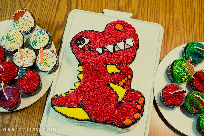 evan s 3rd birthday glob a saurus rex