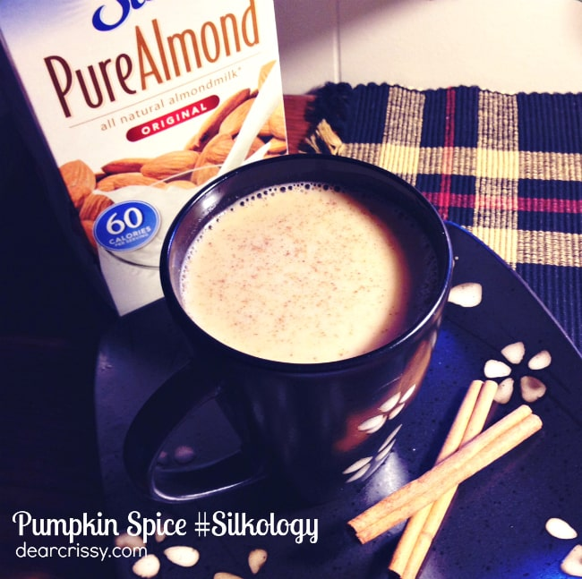 Pumpkin Spice Holiday Drink #silkology