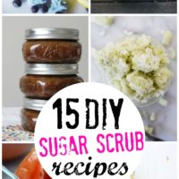 15 DIY Sugar Scrub Recipes - Polish, exfoliate and brighten dull skin with these fabulous homemade sugar scrub recipes for radiant skin.