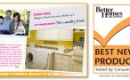 Better Homes & Gardens Best New Product Awards