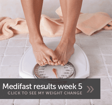 Medifast Weight Loss Week 5