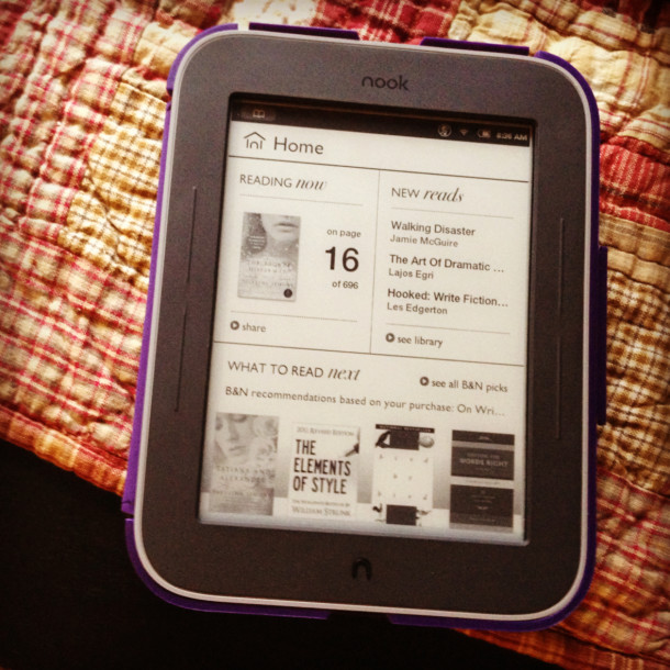 Nook Simple Touch GlowLight Review