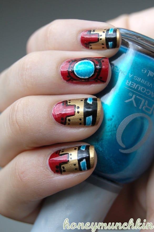 Iron Man Manicure