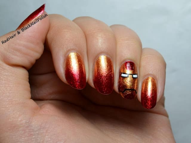 Iron Man Nails