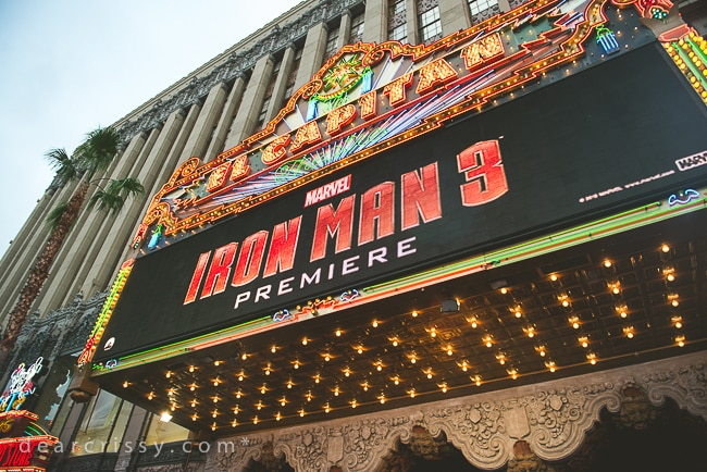 Red Carpet Premiere of 'Iron Man 3'