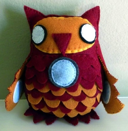 iron man plush owl
