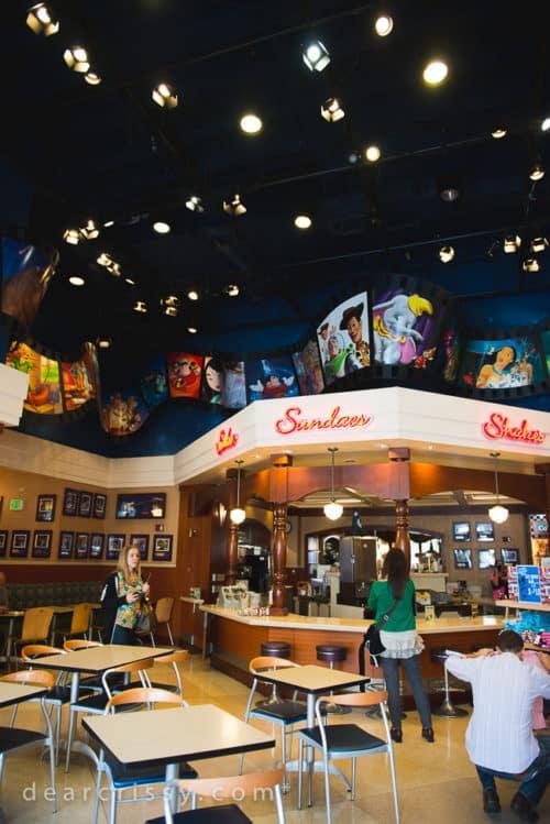 El Capitan Theatre and Disney Soda Fountain