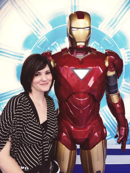 I've shared so many fun moments from my time in LA at the #IronMan3Event, but, one of my favorite experiences of the entire trip is one that I haven't really touched on yet---it was our visit to Madame Tussauds Wax in Hollywood!