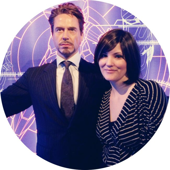 Iron Man at Madame Tussauds Hollywood