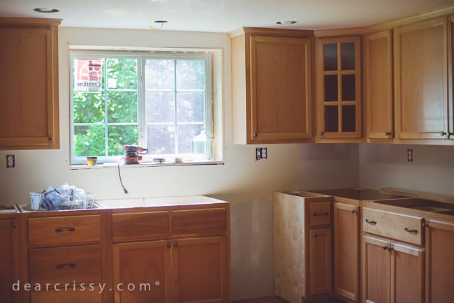 Kitchen Renovation Update: Hello, Cabinets!