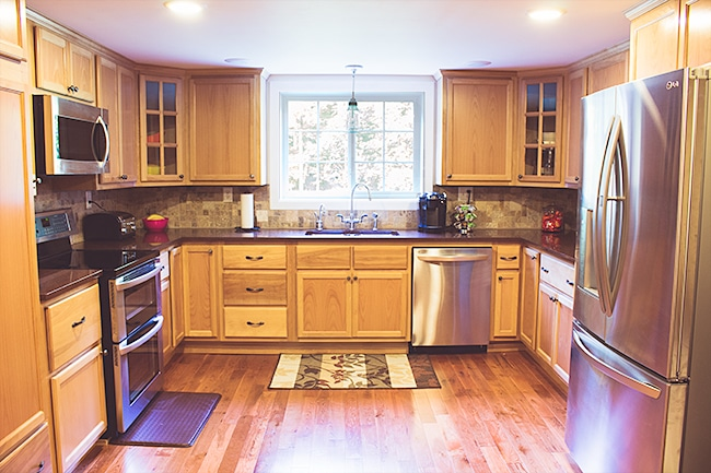 Our kitchen renovation is complete!