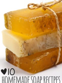 10 Homemade soap recipes