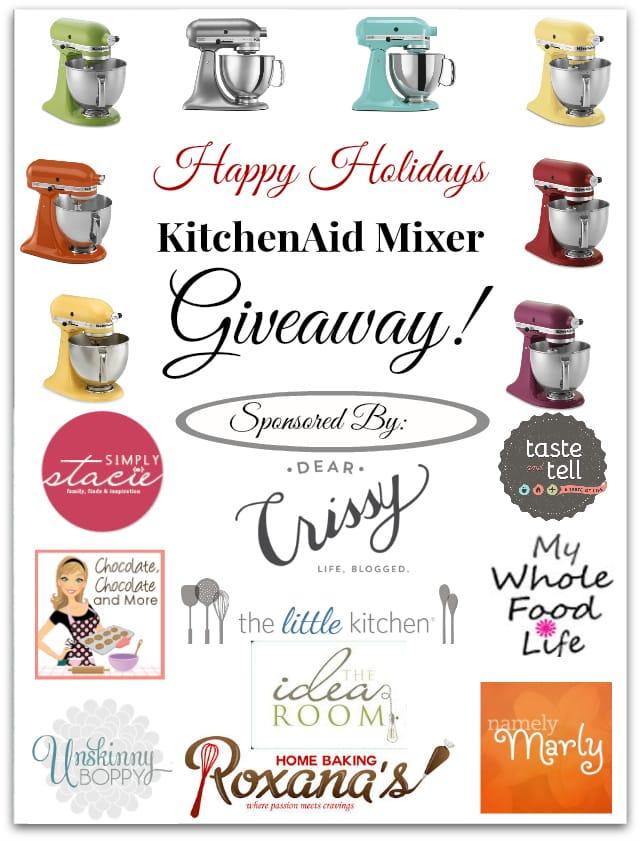 Win a KitchenAid Stand Mixer!
