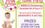 #BRUChristmas Twitter Party December 4th at 8pm EST