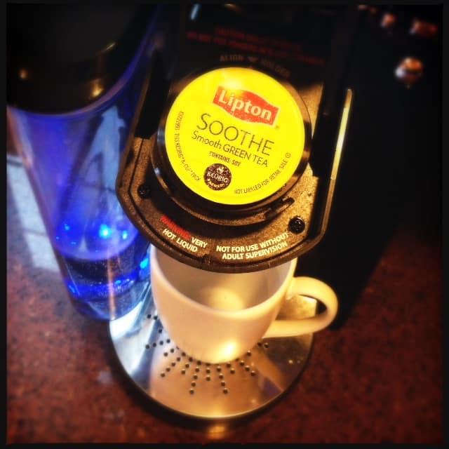 Lipton K-Cups help you SOOTHE, REFRESH and INDULGE: Keurig #sweepstakes