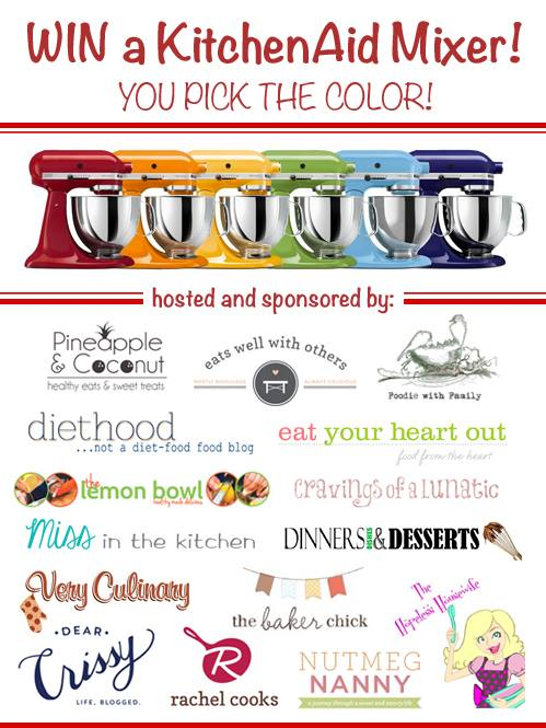Win a KitchenAid Stand Mixer!