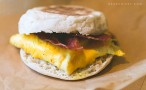 Grab-and-go breakfast sandwich