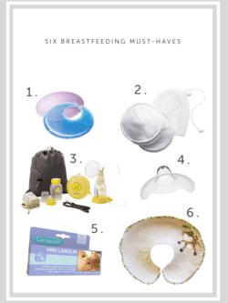 6 Breastfeeding must-haves