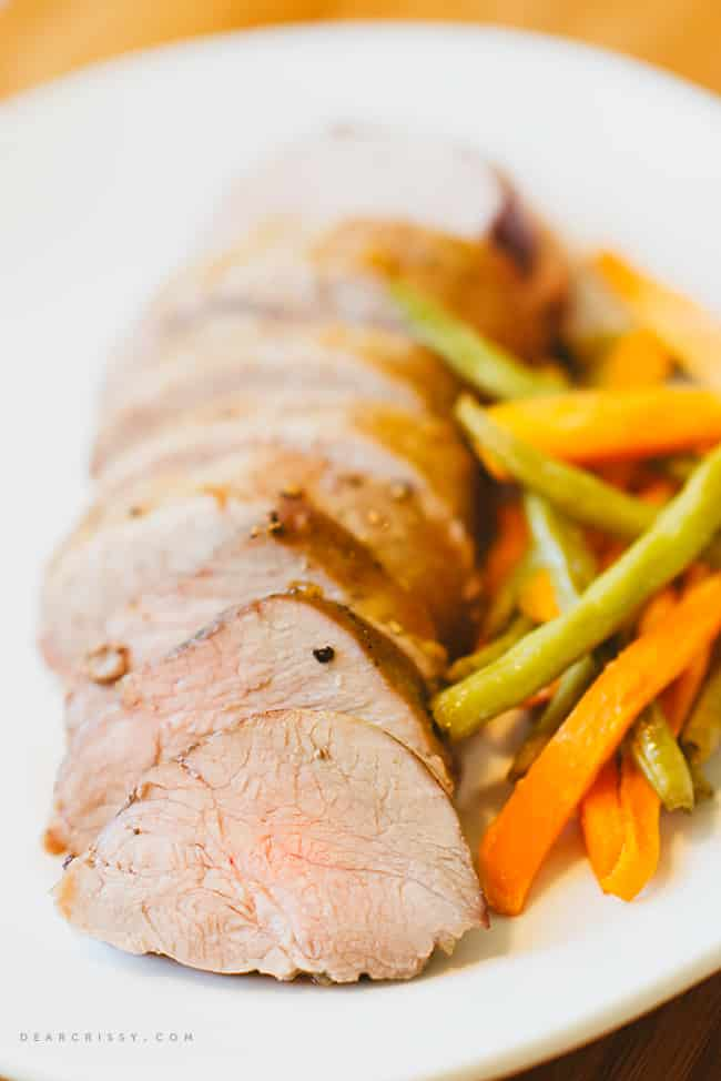 Perfect Marinated Pork Tenderloin #PinkPork