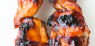 BBQ Chicken Kabobs
