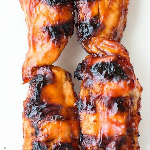 BBQ Chicken Kabobs