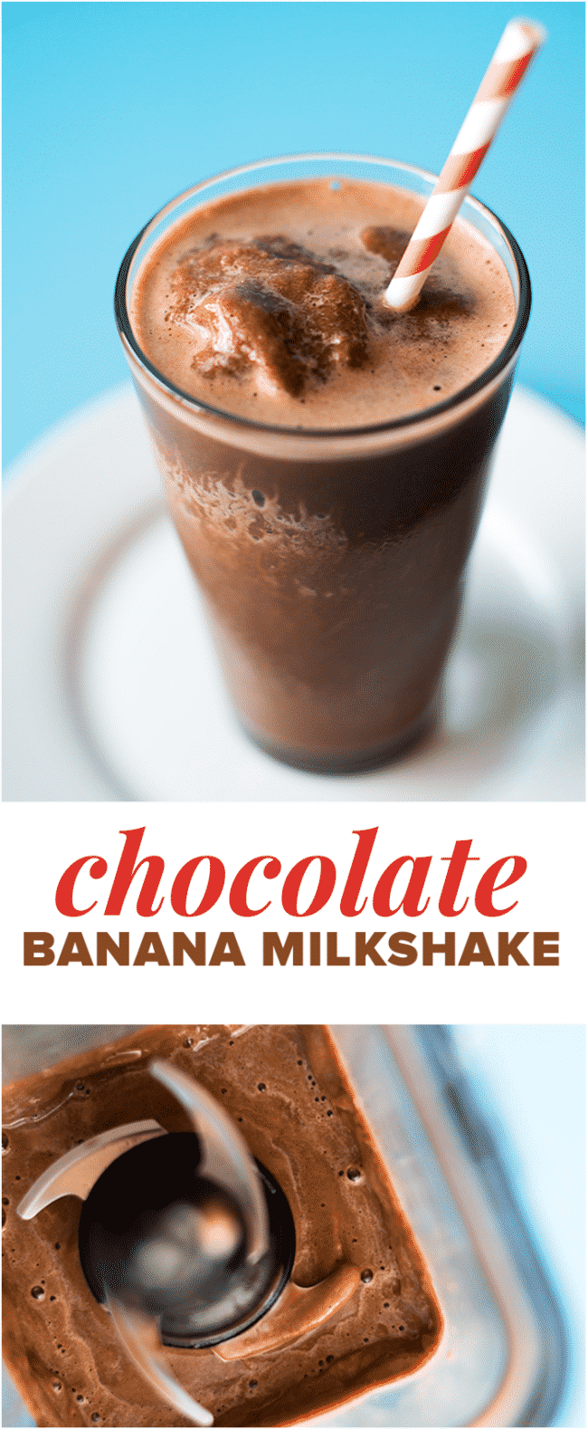 Chocolate Banana Milkshake - Kids and adults alike will love this simple but delicious chocolate banana milkshake recipe featuring rich and nutritious Ovaltine!