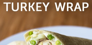 Cucumber cream cheese turkey wraps
