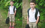 Evan's first day of pre-k #ThatsMyKid