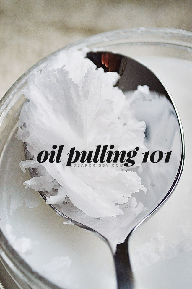 Oil Pulling 101 - Learn all about oil pulling with coconut oil!