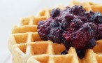 Granola Berry Waffles - Quick, easy and wholesome waffles. You're going to love these!
