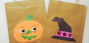Personalized Halloween Goody Bag Craft