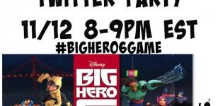 Big Hero 6 Twitter Party