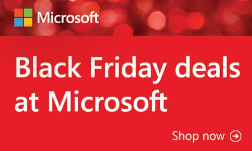 Black Friday Deals at Microsoft