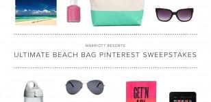 Marriott Resorts Ultimate Beach Bag Pinterest Contest
