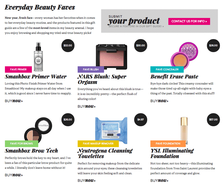 DearCrissy.com Gift Guide