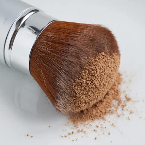 Homemade dry shampoo