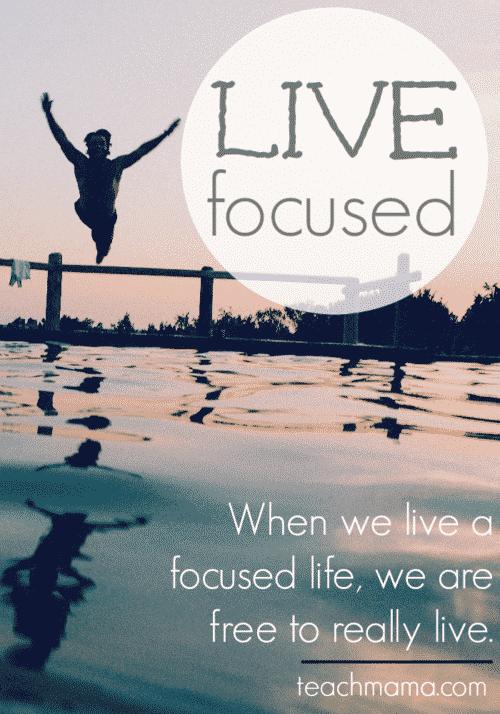 Live Focused in 2015