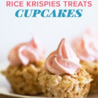 Rice Krispies Treats cupcakes