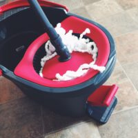 The O-Cedar EasyWring Spin Mop & Bucket System